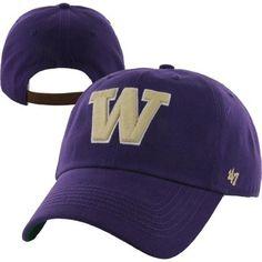 '47 Brand Washington Huskies Bergen Adjustable Hat