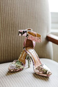Jeffrey Campbell Floral Bridal Shoes | Oldani Photography https://www.theknot.com/marketplace/oldani-photography-st-louis-mo-600180