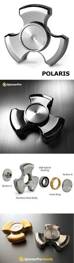 spinner stainless fidget edc steel hand spinner