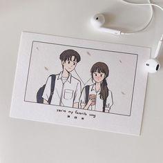 art ✔ Couple Illustration Drawing Cartoon with a pict Cute Couple Drawings, Anime Couples Drawings, Cute Couple Art, Cute Drawings, Character Design Cartoon, Cartoon Art Styles, Cute Art Styles, 3d Character, Paar Illustration