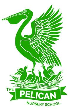 stylized pelican logo