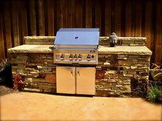 Stone Outdoor Kitchens In Dallas Tx Custom Stone Work Outdoor Kitchen Stacked Stone Dry Stack Stone