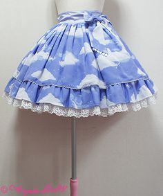 Angelic Pretty - Misty Sky Skirt (2015)