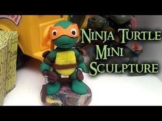 Chibi TMNT Sculpture Collab with Ewa Polymer Clay Tutorial / Arcilla Polimérica http://www.youtube.com/watch?v=fx7mvj3ZMAk