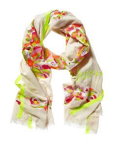 Floral Embroidery Scarf #FloralPrintLoves  http://www.juicycouture.com/Floral-Embroidery-Scarf/YTRUS270,default,pd.html?dwvar_YTRUS270_color=974=6=floral=search#