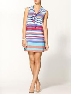 Tinley Road Striped A-Line Mini | Piperlime