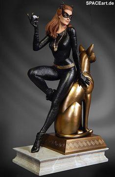 Batman: Catwoman Maquette (Julie Newmar) http://spaceart.de/produkte/bm023.php