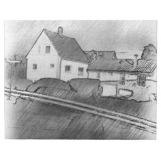 House photo drawing pillows A photo with drawing effect on it. Here you can see a road and some houses on the other side of the road. Colorful Pillows, Decorative Throw Pillows, Photo Pillows, Draw On Photos, Houses, Black And White, Abstract, Drawings, Puzzle