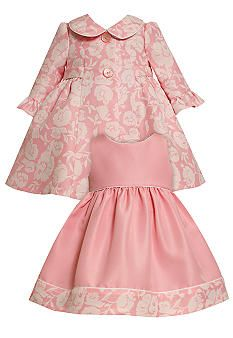 Vintage pattern with classic fabic! This is exactly like Calissa's first Easter dress! LOVE IT!