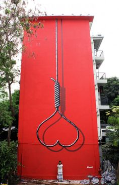 "Mural ""Censored"", by London-based SHOK-1 in China. Did eventually become censored by Chinese authorities."