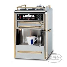 coffee machines: Lavazza 80114 One-Cup Espresso Beverage System, Chrome/Gold Stainless Steel Espresso Machine Reviews, Best Espresso Machine, Espresso Maker, Espresso Drinks, Espresso Cups, Espresso Coffee, Drip Coffee Maker, Coffee Cups, Coffee Barista