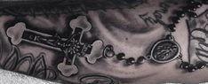Top 103 Rosary Tattoo Ideas [2020 Inspiration Guide] Unique Hand Tattoos, Mandala Hand Tattoos, Skull Hand Tattoo, Tattoo Ink, Simple Tattoos For Guys, Arm Tattoos For Guys, Tattoos For Women Small, Mens Tattoos, Rosary Tattoo On Hand