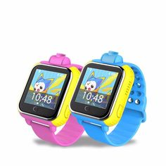 3G smart kids Wristwatch gps watch tracker Wifi Position Support with Rotatable Camera Remote Monitor iOS Android APP
