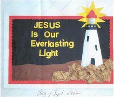 Jesus Bulletin Boards, Kindergarten Bulletin Boards, Christian Bulletin Boards, Class Bulletin Boards, Teacher Boards, Bullentin Boards, School Themes, Classroom Themes, Sunday School Classroom