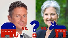 Third Party Candidates Gary Johnson And Jill Stein Hurt Hillary Clinton ...