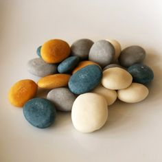 Because these just make me happy. :: Soap Pebbles