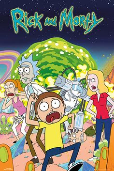 Buy Rick And Morty: Maxi Poster - Group online and save! Rick And Morty: Maxi Poster – Group This poster delivers a sharp, clean image and vibrant colours. This poster is printed on high quality paper. Rock Indé, Games Tattoo, Rick Und Morty, Vintage Cartoons, Image Swag, Rick And Morty Poster, Free Poster Printables, Groups Poster, Cartoon Posters