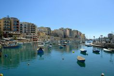 Sliema, Malta.  I lived here for 4 1/2 amazing months :)