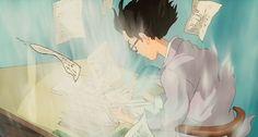 Lost in Thought | The Wind Rises | Miyazaki | Studio Ghibli | (gif)