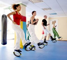 are you ready to shape up before the summer? start Kangoo jumps fitness programs