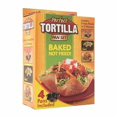 I'm learning all about Perfect Tortilla 4 Piece Set at @Influenster!