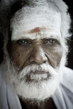 elderly man - faces of the people