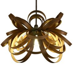 Butterfly Pendant Lamp Oak now featured on Fab.