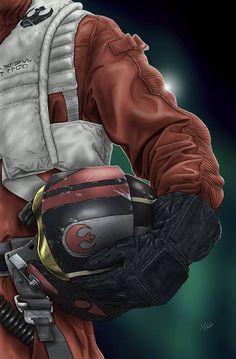 Petit tour du côté des artistes Star Wars avec une toute nouvelle série d'artworks imaginée par Scott Zambelli.