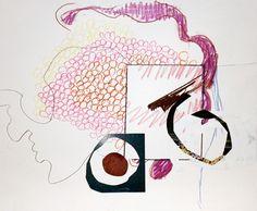 Jessica Stokholder - Drawing