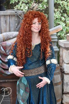 Beautiful Freckles, Beautiful Red Hair, Beautiful Redhead, Brave Costume, Women With Freckles, Disneyland, Redheads Freckles, Red Hair Woman, Epic Cosplay