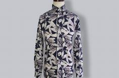秋のオシャレ!リーフ柄デザインオーダーシャツ