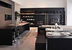 Cozinhas inteligentes e modernas