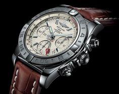 Breitling Chronomat 44 GMT - 44 mm diameter. Steel