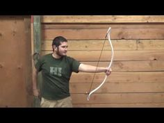 40 Pound PVC Bow Freehand Tapered - No Flattening Jig Needed - YouTube