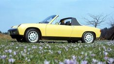 Coche del día: Porsche 914 Porsche 914, Volkswagen, Off Work, Blow Off, Over The Years, Race Cars, Take That, Good Things, Flat