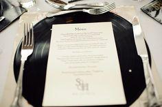 An Elegant & Contemporary Yacht Club Wedding: Hannah & Steve 50s Wedding, Rockabilly Wedding, Wedding Pins, Wedding Beauty, Wedding Table, Dream Wedding, Wedding Ideas, Motown Party, Rock And Roll