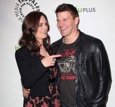 David Boreanaz and Emily Deschanel #artist