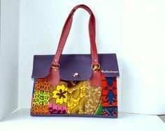 Ankara Wax Print Bag, The Nini Bag