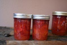 6097776344 0d028a9c3e preserving: peach, plum & ginger compote