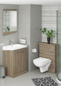 Scale Plus has the same geometric style as the smaller Scale basin unit, but with an increased depth for extra storage. The sloping, angled basin has a clean and modern look to match the quiet soft close slab doors which are finished with stylish chrome handles.