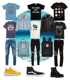 """""""Untitled #85"""" by hannahjamine on Polyvore featuring AMIRI, Hot Topic, Gap, Disney, Mighty Fine, Dondup, NIKE, Lugz, Vans and RtA"""