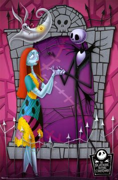 *SALLY, ZERO & JACK SKELLINGTON ~ The Nightmare before Christmas, 1993