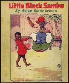 Black American Sambo art | LITTLE BLACK SAMBO | HELEN BANNERMAN | Aleph-Bet Books
