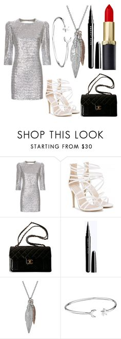 """""""Untitled #124"""" by nicoleschram81 ❤ liked on Polyvore featuring Fleur du Mal, Chanel and Alex and Ani"""