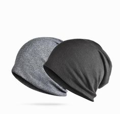 582e4529cf4 Brand NUZADA Solid Color Unisex Men Women Skullies Beanies Hedging Cap Knit  Knitted Cotton Double Layer Fabric Caps Bonnet Hat