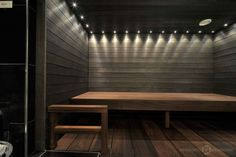 Sauna Design, Saunas, Exterior Design, Home And Living, Dining Bench, Benches, Bathrooms, Furniture, Store
