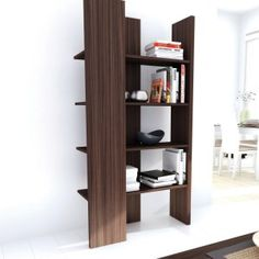Sonax BC-4608 Open Ended Storage Shelf in Ebony Pecan $269.00