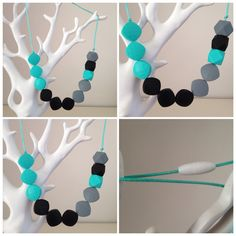 Silicone Teething Necklace. BPA Free Food Grade Silicone. Bubs Will Love. on Etsy, $25.00 AUD