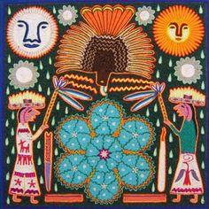 El águila guía  www.realdecatorce.net/artesania.htm#   Artesano: Antonio Carrillo de la Cruz