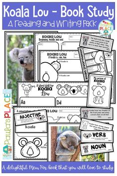 Students will explore Koala Lou by Mem Fox and make responses to the text read. They will also be given the opportunity to write an information text about Koalas. Daily 5 Activities, Teaching Activities, Teaching Writing, Reading Comprehension Strategies, Writing Strategies, Reading Resources, Writing Posters, Writing Genres, Informational Writing